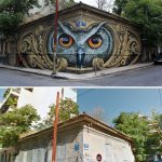 Wisdom Listens, Street Art In Athens, Greece